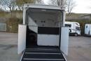 Back of trailer with door open
