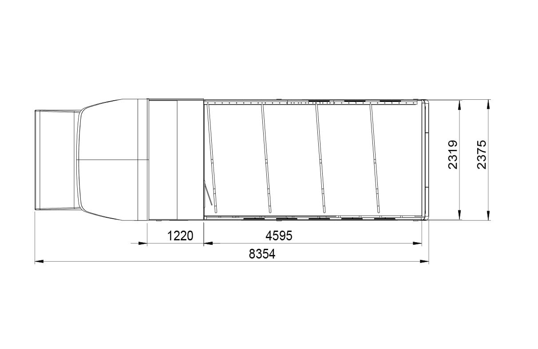 Evolution transporter layout